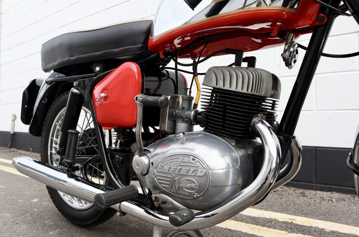 1964 Royal Enfield Turbo Twin Sport 250cc twin-port For Sale (picture 3 of 6)