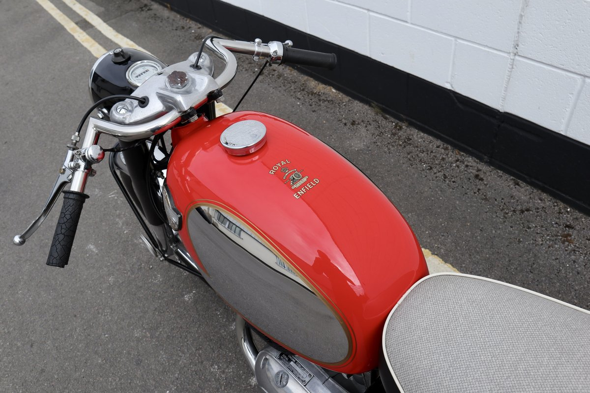 1964 Royal Enfield Turbo Twin Sport 250cc twin-port For Sale (picture 5 of 6)