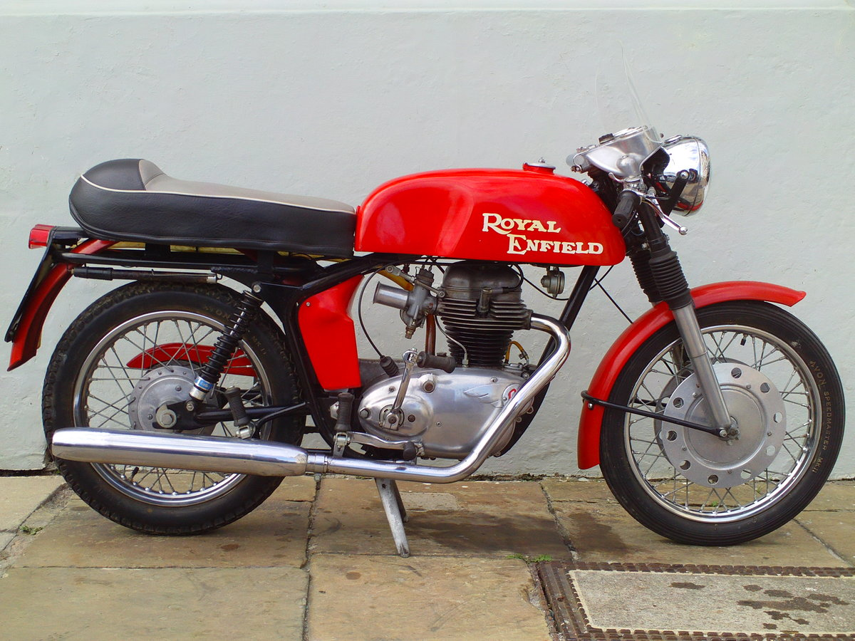 1968 ROYAL ENFIELD CONTINENTAL GT SOLD (picture 1 of 6)