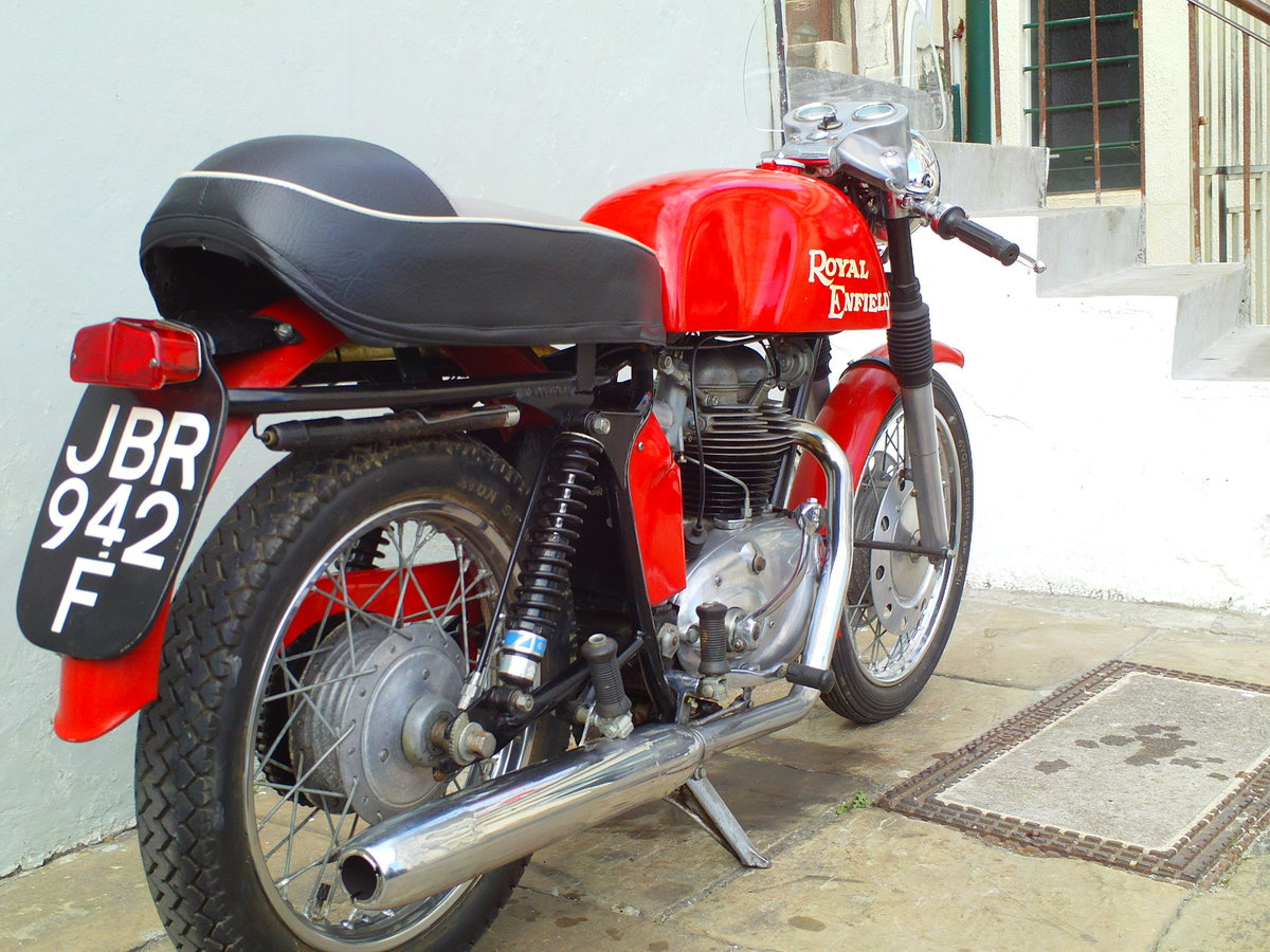 1968 ROYAL ENFIELD CONTINENTAL GT SOLD (picture 2 of 6)