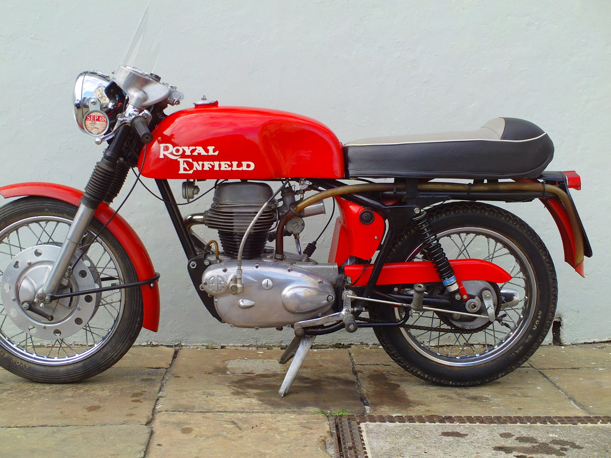 1968 ROYAL ENFIELD CONTINENTAL GT SOLD (picture 3 of 6)