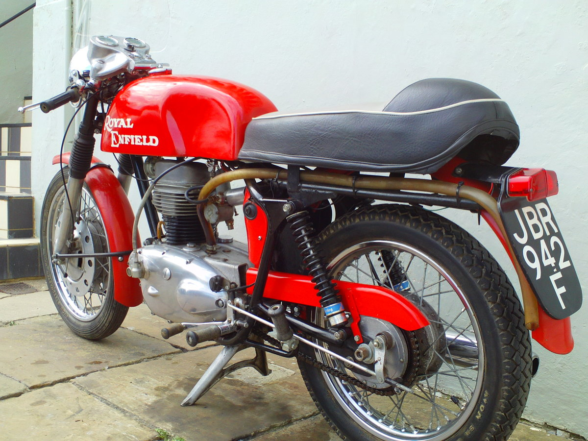 1968 ROYAL ENFIELD CONTINENTAL GT SOLD (picture 4 of 6)