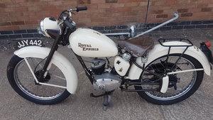 Royal Enfeild 1954 150cc Ensigne Rare Classic Bike