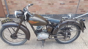 Royal Enfeild 1954 150cc Original Ensigne Rare Classic Bike