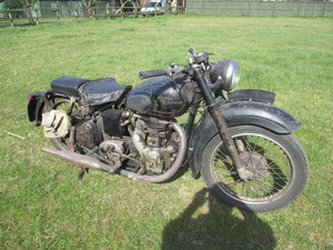 Royal Enfield Model G Barn Find