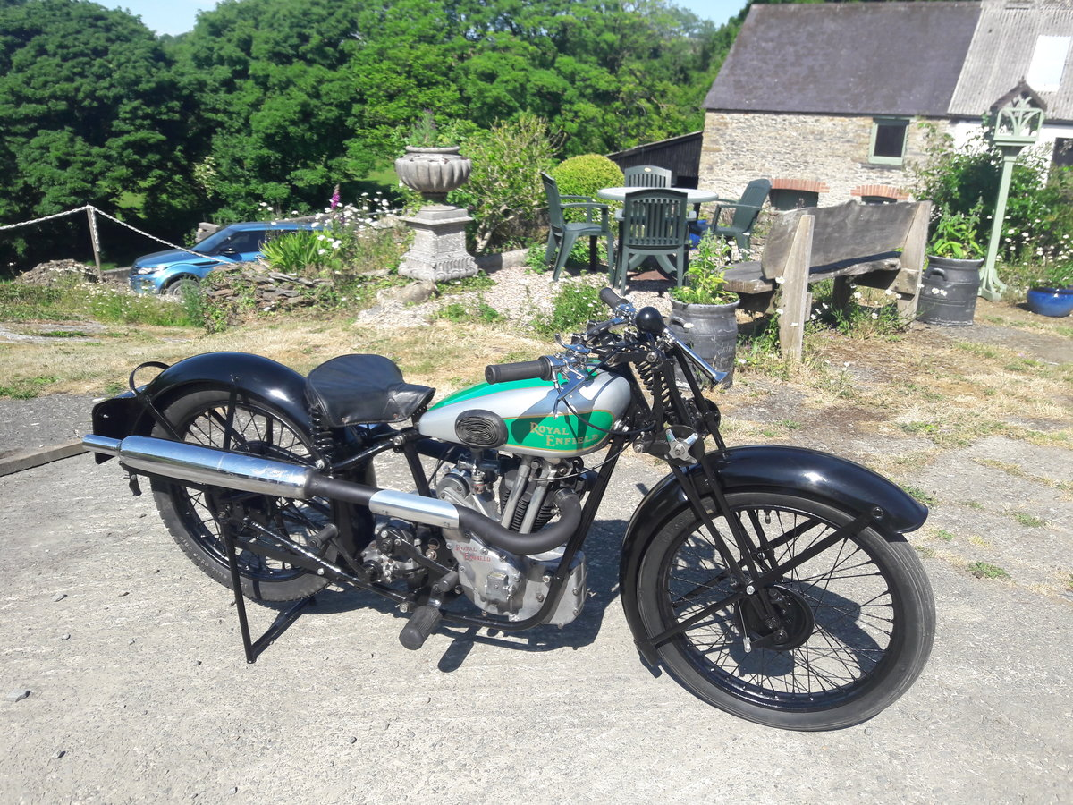 Royal Enfield 250ohv Twinport Bullet 1933 For Sale (picture 1 of 6)