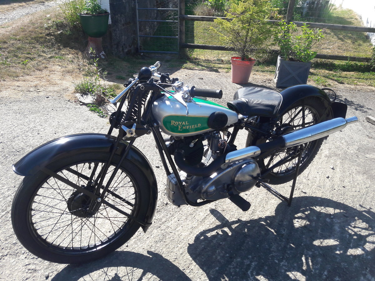 Royal Enfield 250ohv Twinport Bullet 1933 For Sale (picture 2 of 6)