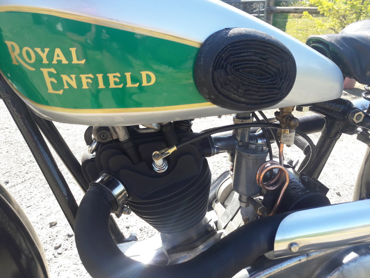 Royal Enfield 250ohv Twinport Bullet 1933 For Sale (picture 4 of 6)
