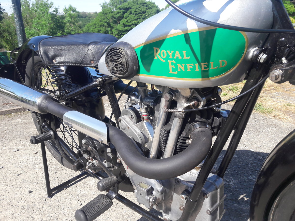 Royal Enfield 250ohv Twinport Bullet 1933 For Sale (picture 5 of 6)