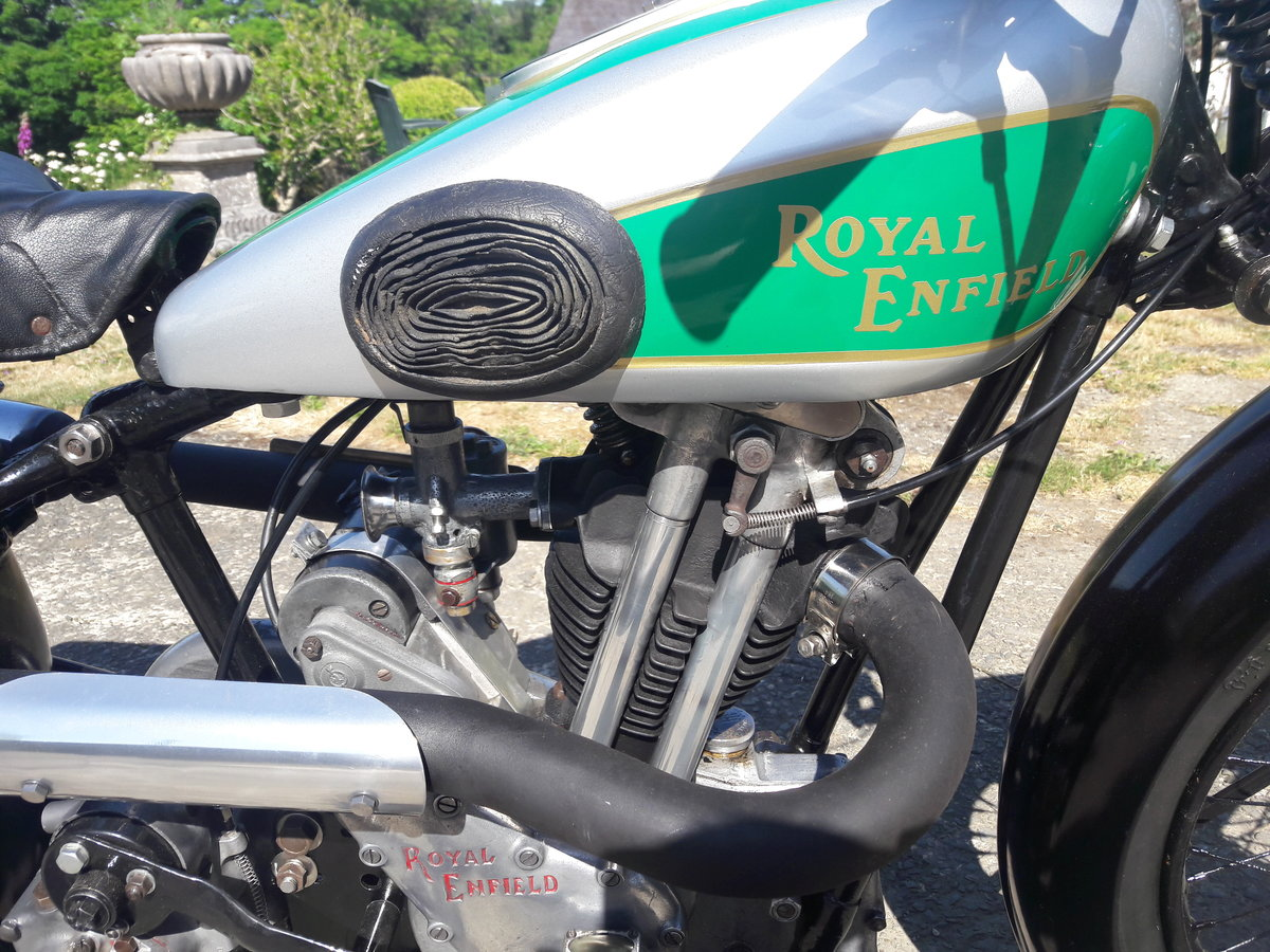 Royal Enfield 250ohv Twinport Bullet 1933 For Sale (picture 6 of 6)