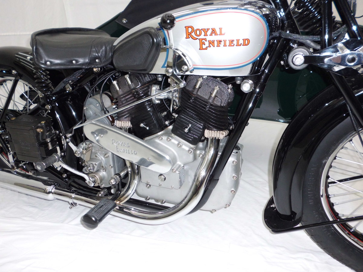 1938 ROYAL ENFIELD KX 1140cc SIDECAR COMBINATION For Sale (picture 3 of 6)