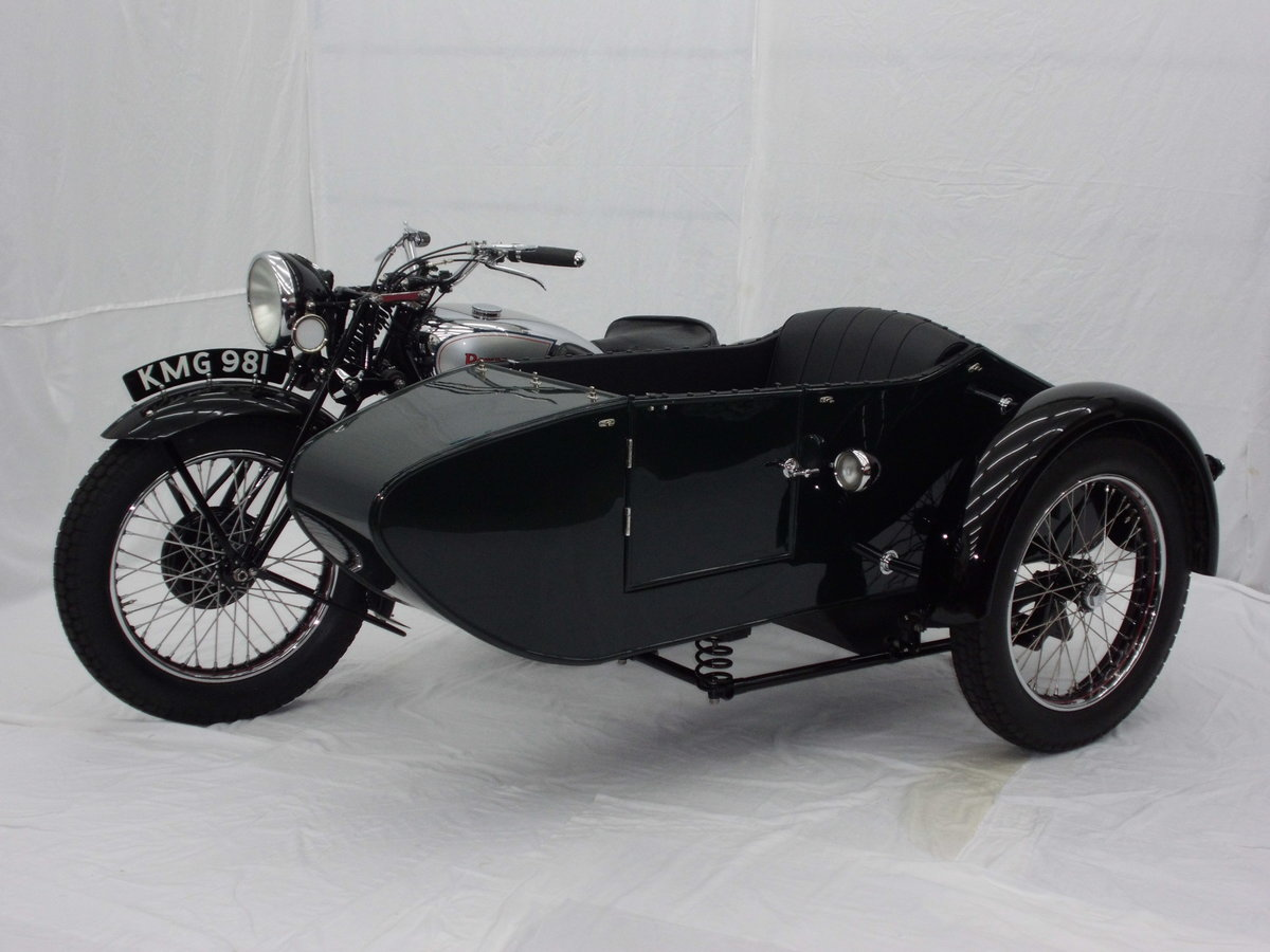 1938 ROYAL ENFIELD KX 1140cc SIDECAR COMBINATION For Sale (picture 6 of 6)
