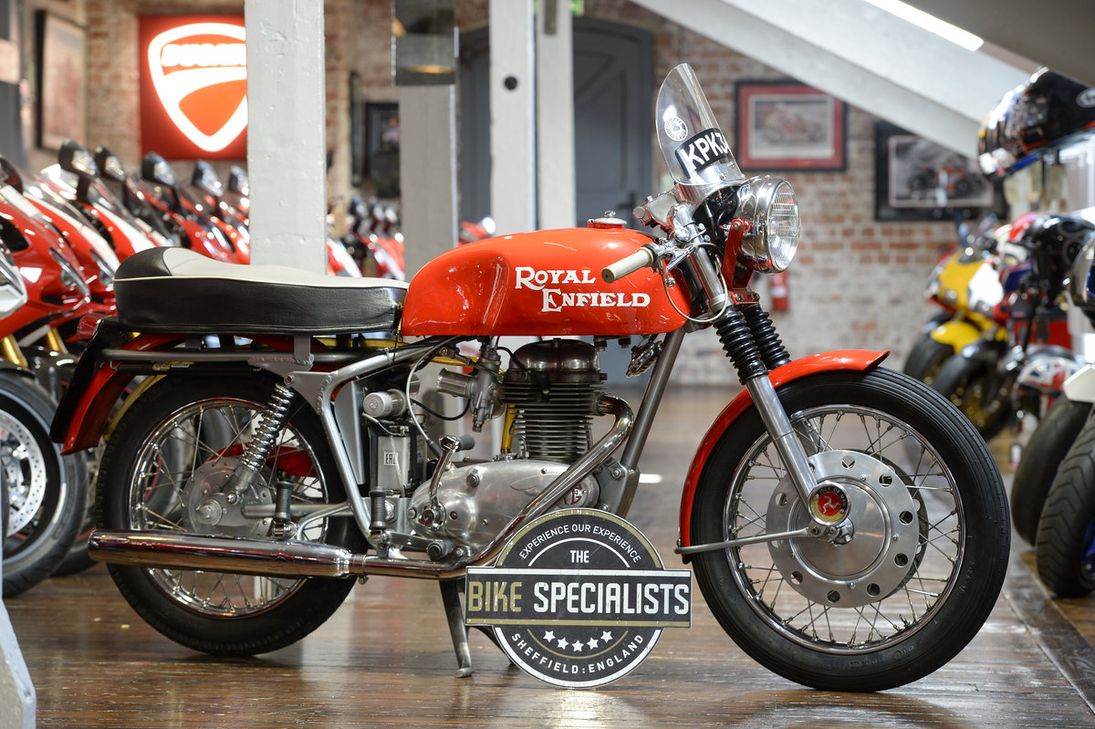 1964 Royal Enfield Continental GT 1st off the production line   For Sale (picture 1 of 6)