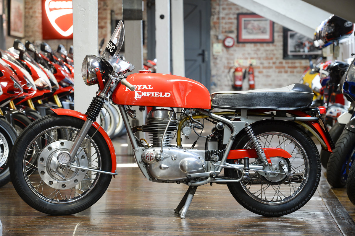 1964 Royal Enfield Continental GT 1st off the production line   For Sale (picture 2 of 6)