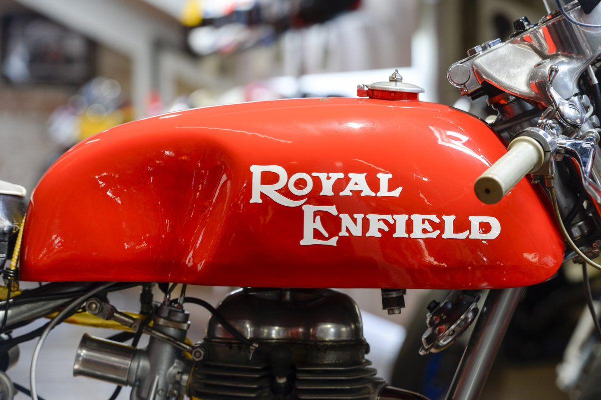 1964 Royal Enfield Continental GT 1st off the production line   For Sale (picture 3 of 6)