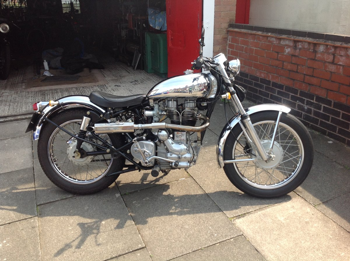 1999 Royal enfield 500 bullet light weight bobber SOLD (picture 1 of 6)