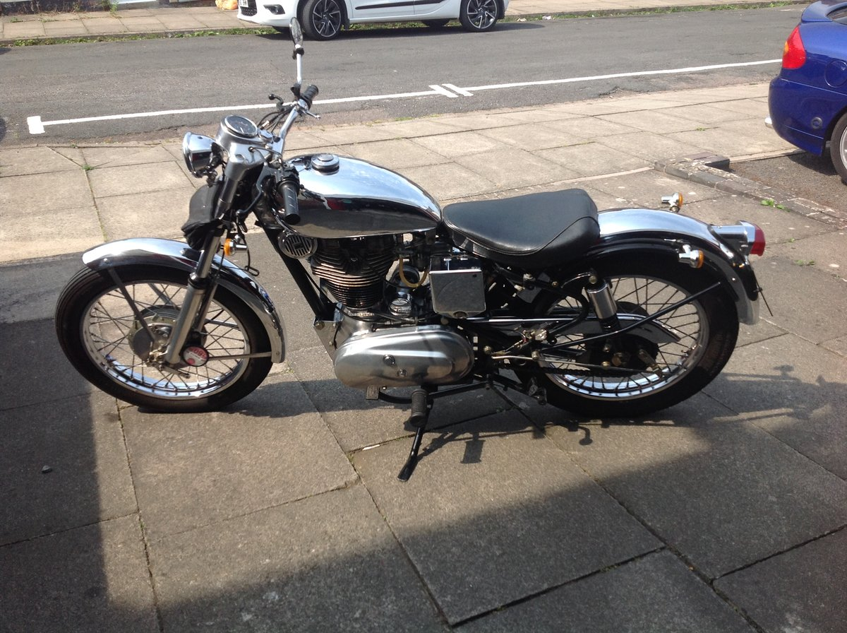 1999 Royal enfield 500 bullet light weight bobber SOLD (picture 2 of 6)