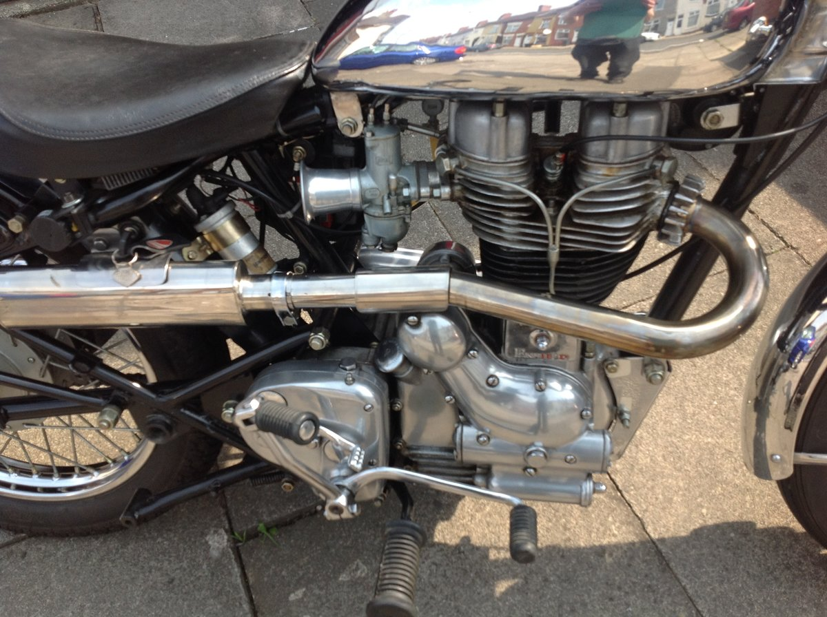 1999 Royal enfield 500 bullet light weight bobber SOLD (picture 3 of 6)