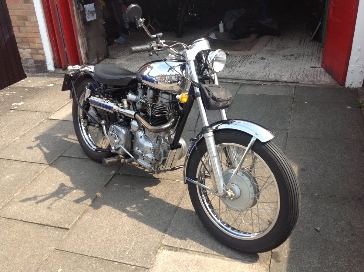 1999 Royal enfield 500 bullet light weight bobber SOLD (picture 5 of 6)