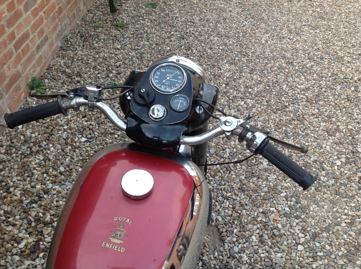 1961 Royal Enfield 350 Bullet For Sale (picture 4 of 6)