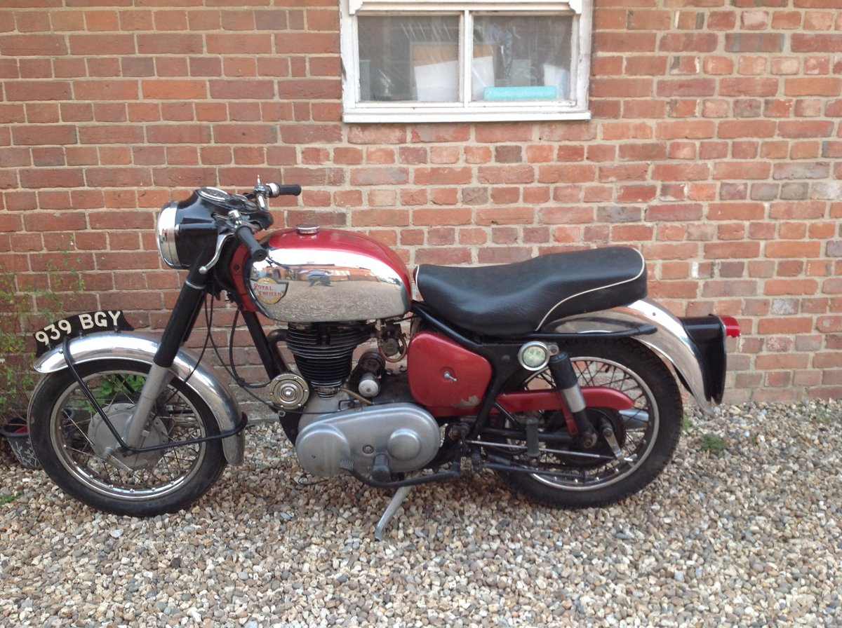 1961 Royal Enfield 350 Bullet For Sale (picture 5 of 6)
