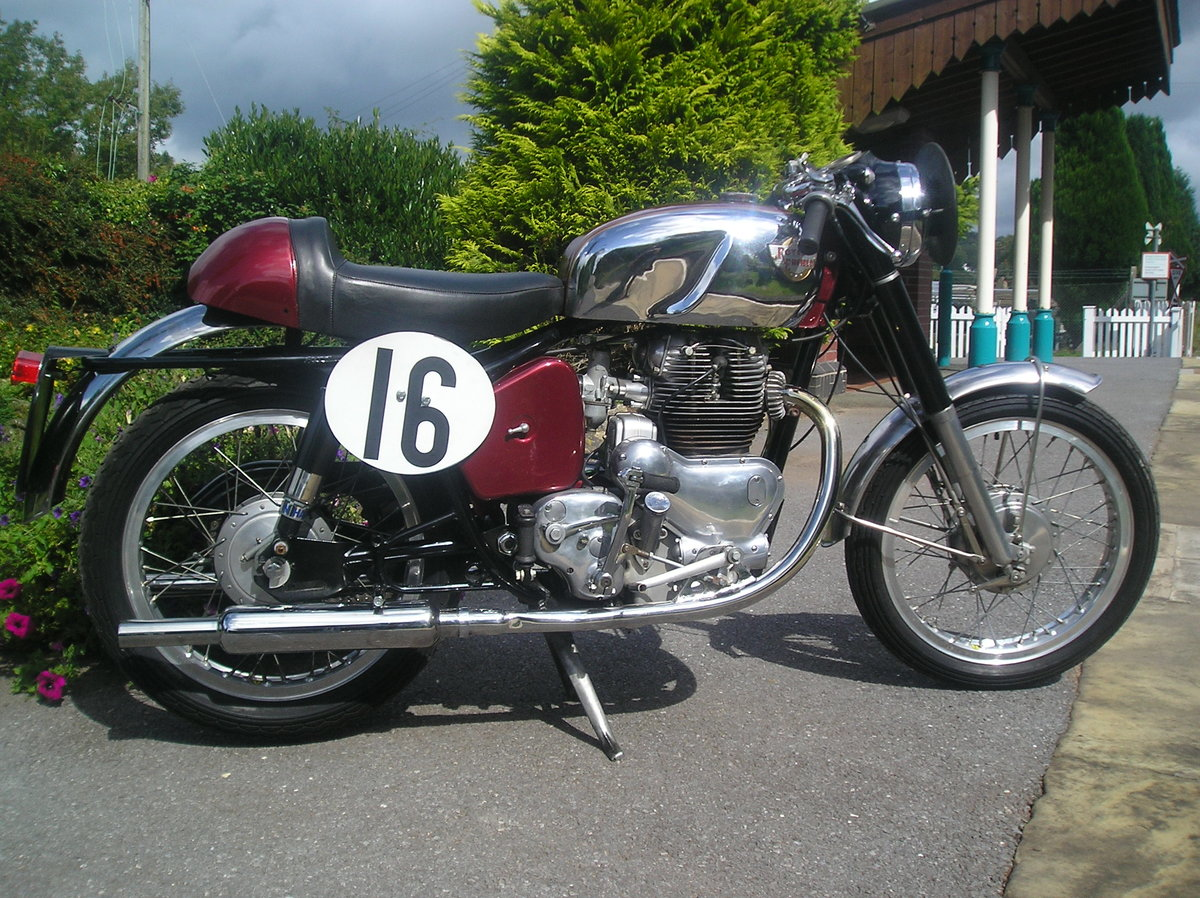 A 1957 Royal Enfield Super Meteor - 11/11/2020 SOLD by Auction (picture 1 of 2)
