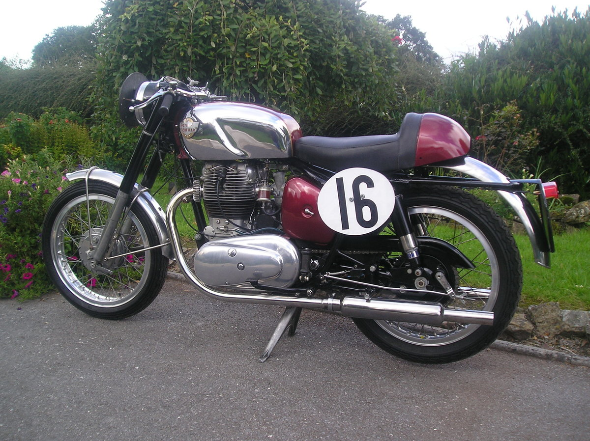 A 1957 Royal Enfield Super Meteor - 11/11/2020 SOLD by Auction (picture 2 of 2)