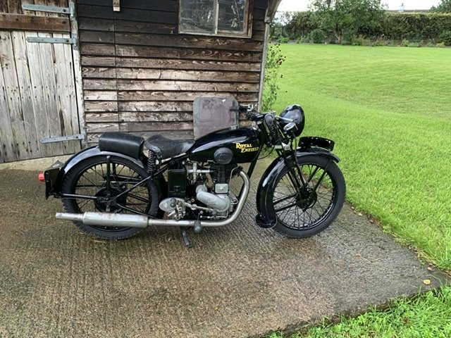 1939 Royal enfield pre war  250SF For Sale (picture 1 of 5)