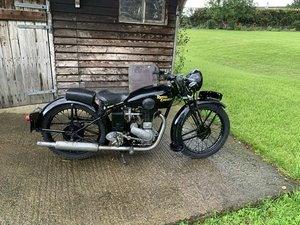 Royal enfield pre war  250SF