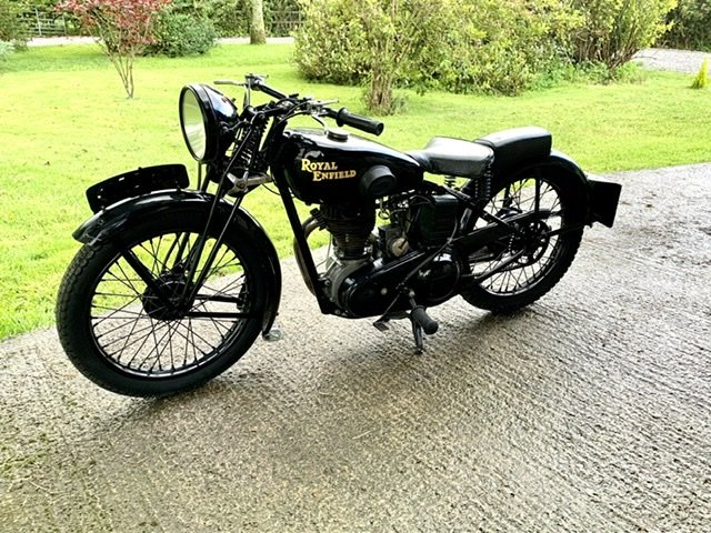 1939 Royal enfield pre war  250SF For Sale (picture 3 of 5)