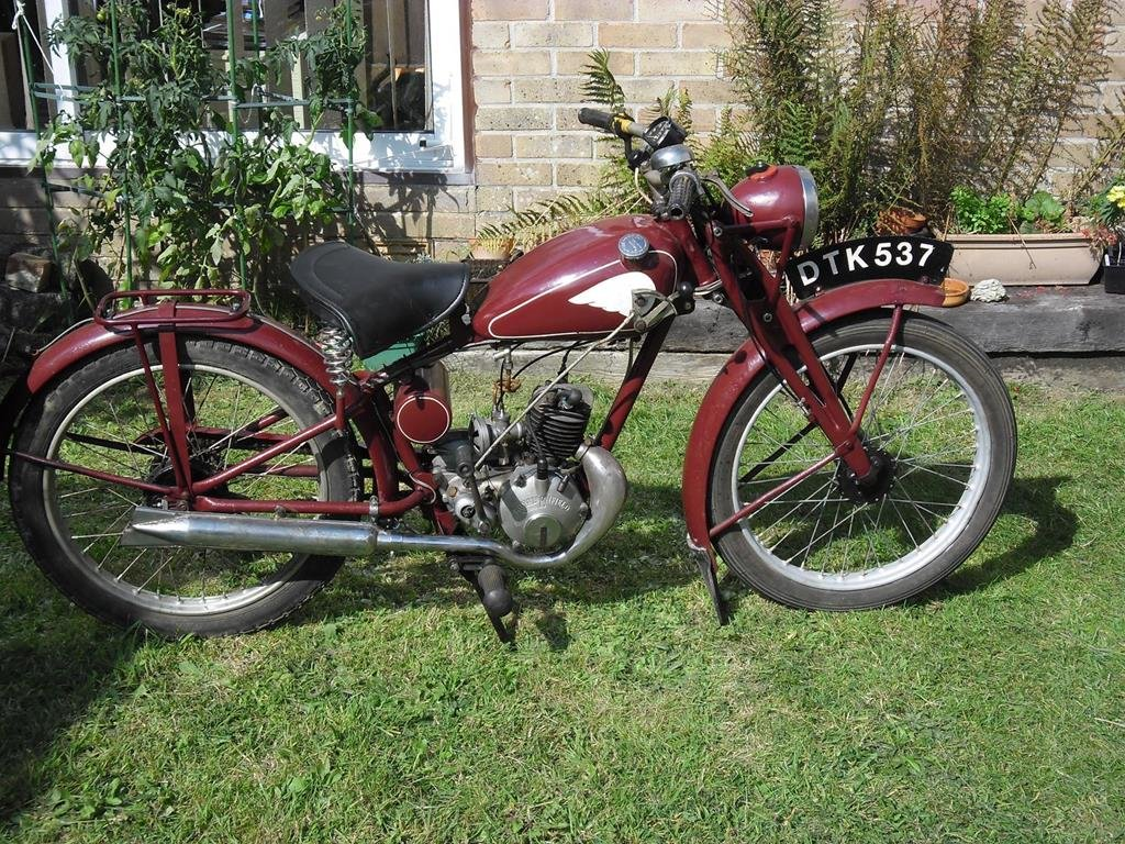 Lot 112 - A 1949 Royal Enfield RE 15 - 28/10/2020 SOLD by Auction (picture 1 of 6)
