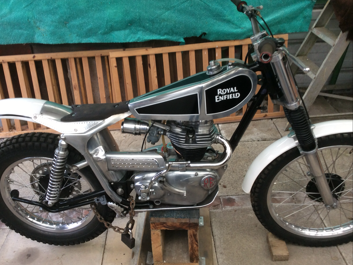 1960 250 cc Royal Enfield trials For Sale (picture 1 of 6)