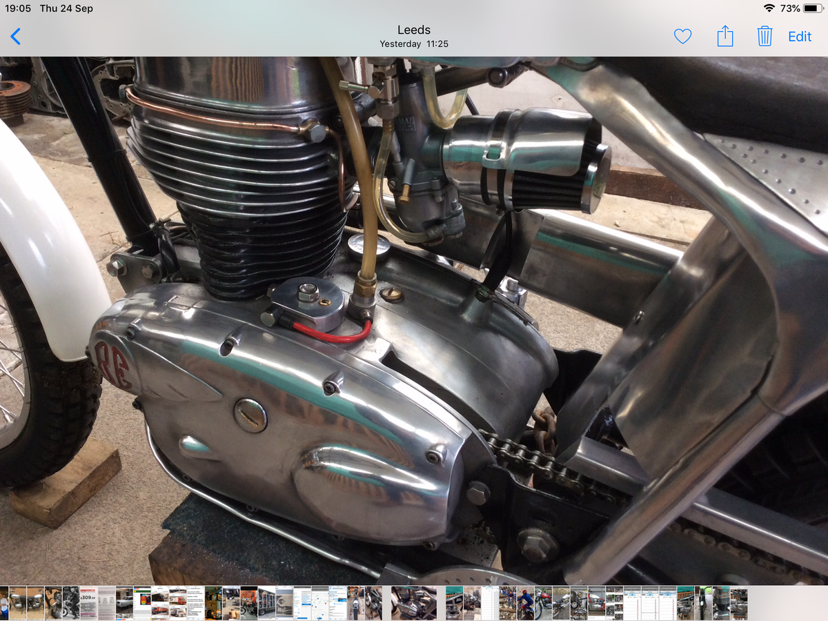 1960 250 cc Royal Enfield trials For Sale (picture 3 of 6)