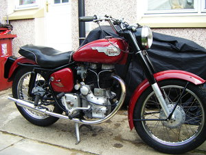 Picture of 1958 Enfield 350 clipper British bike