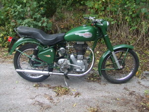 Picture of 1954 Royal Enfield 250 Clipper. Runs well, GC.