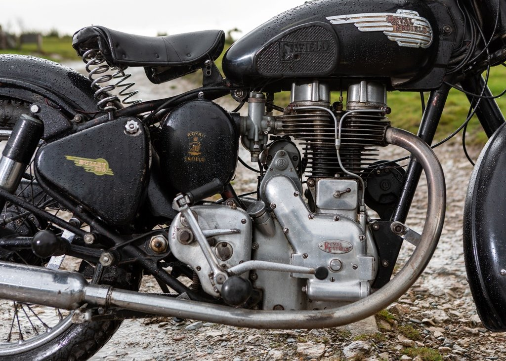 1955 Royal Enfield Bullet (350cc) SOLD by Auction (picture 5 of 6)