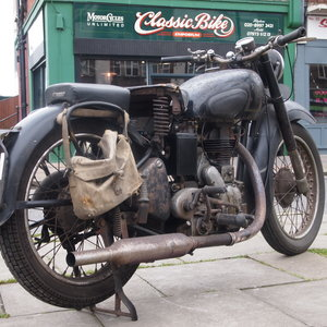 Picture of 1949 Royal Enfield Model G 350cc Original & Unmolested. For Sale