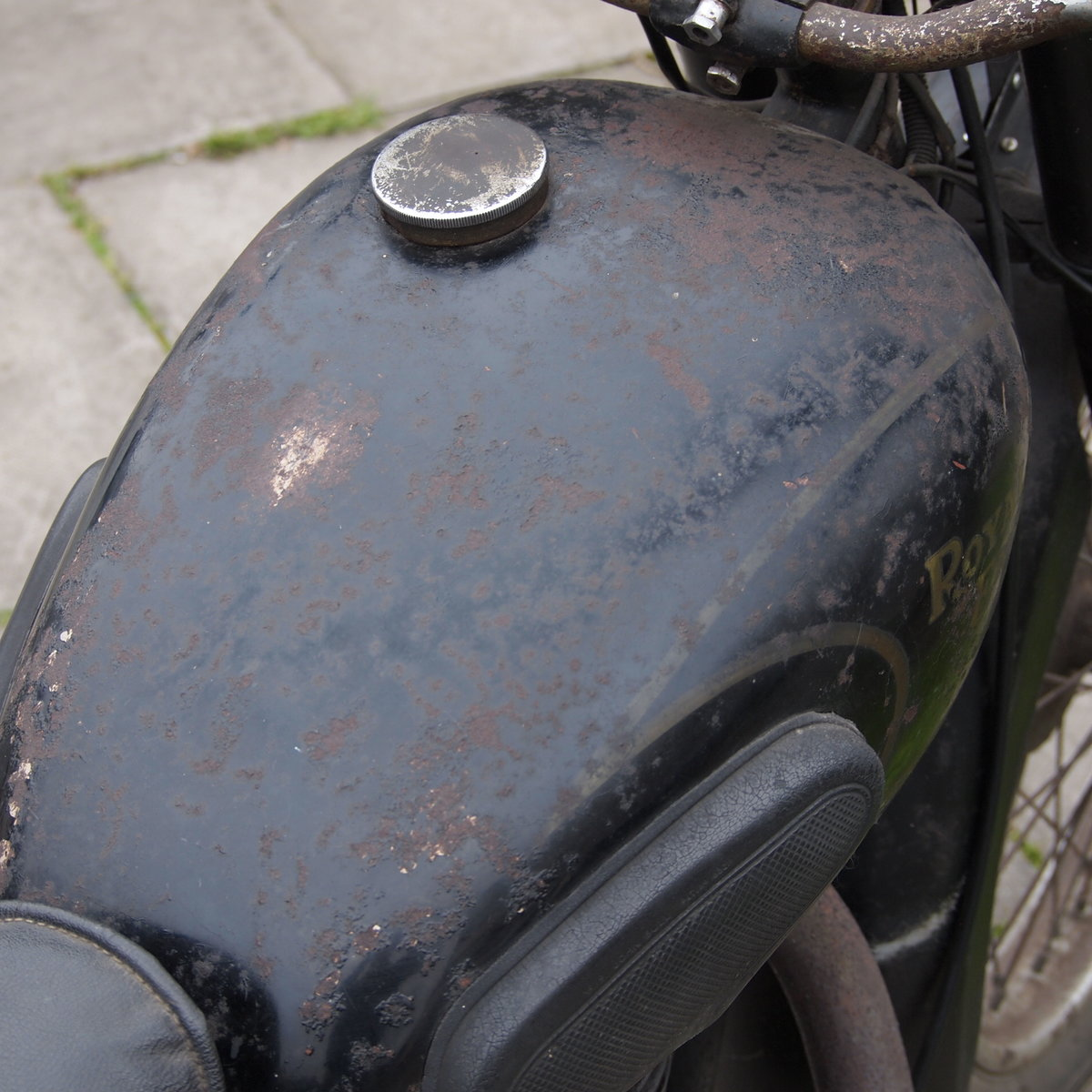 1949 Royal Enfield Model G 350cc Original & Unmolested. For Sale (picture 9 of 12)