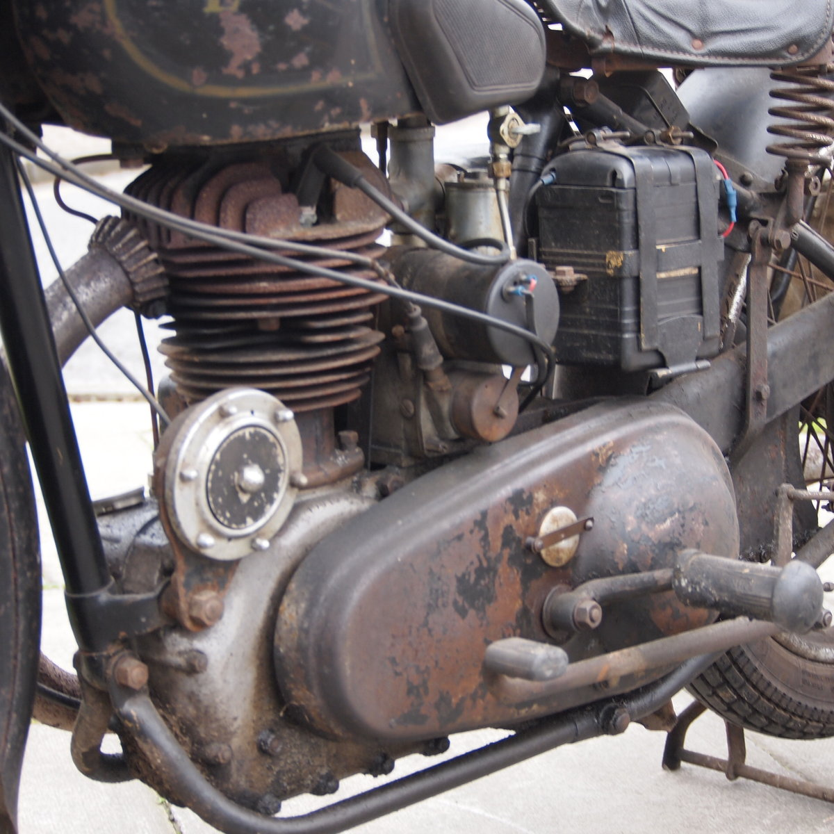 1949 Royal Enfield Model G 350cc Original & Unmolested. For Sale (picture 10 of 12)
