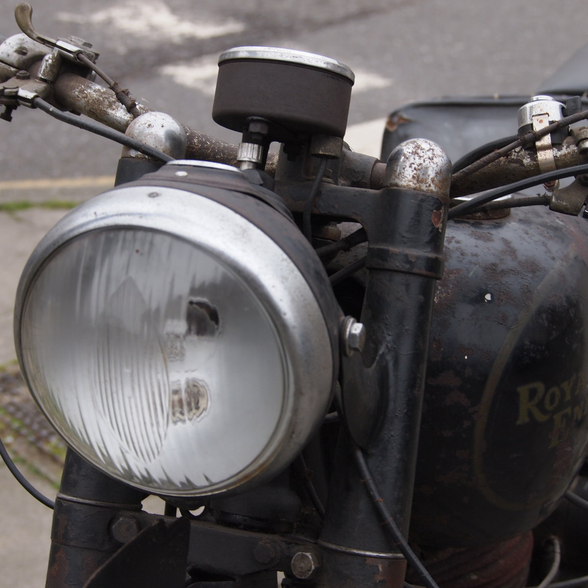 1949 Royal Enfield Model G 350cc Original & Unmolested. For Sale (picture 12 of 12)