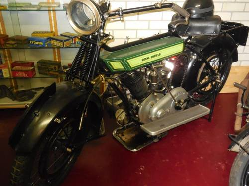 1921 Royal Enfield V Twin Sold Car And Classic
