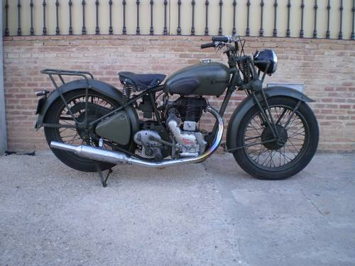 1939 ROYAL ENFIEL 350 OHV WD/C MILITARY For Sale (picture 4 of 6)