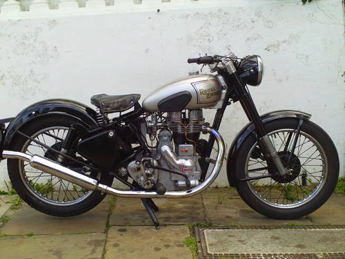1951 ROYAL ENFIELD 350 BULLET SOLD (picture 1 of 6)