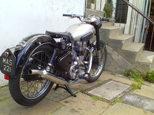 1951 ROYAL ENFIELD 350 BULLET SOLD (picture 2 of 6)
