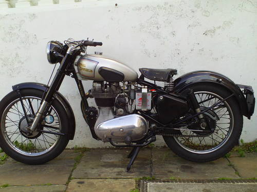 1951 ROYAL ENFIELD 350 BULLET SOLD (picture 3 of 6)