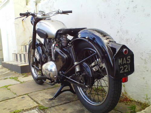 1951 ROYAL ENFIELD 350 BULLET SOLD (picture 4 of 6)