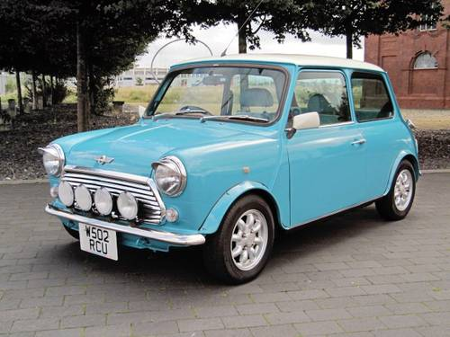 2000 ROVER MINI COOPER 1300 LOW MILEAGE  For Sale (picture 1 of 6)