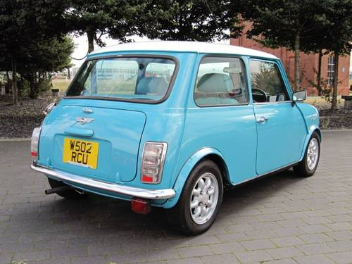2000 ROVER MINI COOPER 1300 LOW MILEAGE  For Sale (picture 4 of 6)