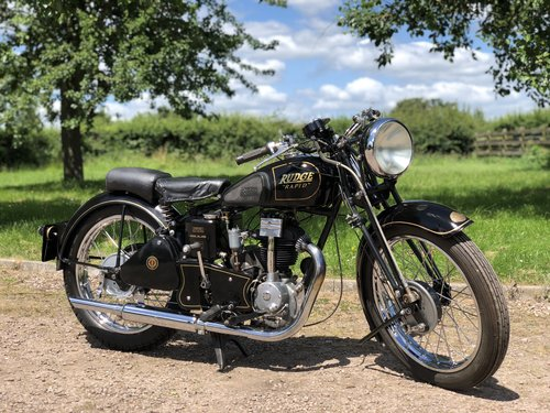 Rudge Rapid 1938 250cc  SOLD (picture 1 of 6)