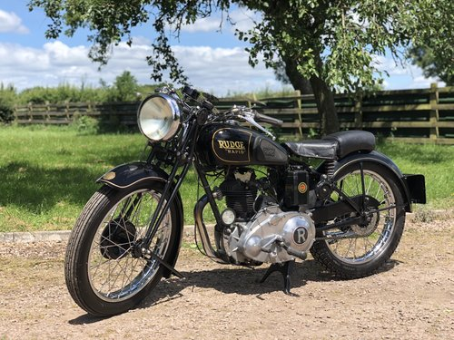 Rudge Rapid 1938 250cc  SOLD (picture 2 of 6)